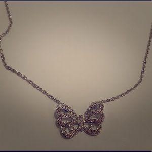 Swarovski butterfly necklace 🦋